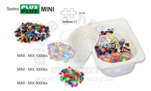 S1.5 - Stavebnice Plus Plus - MINI - 3000ks - mix barev